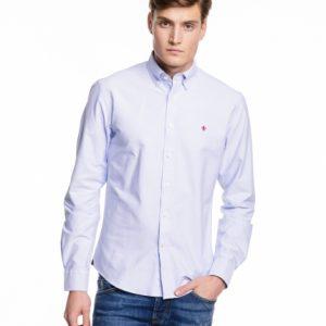 skjorte light blue
