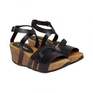 Cream sandra sandal