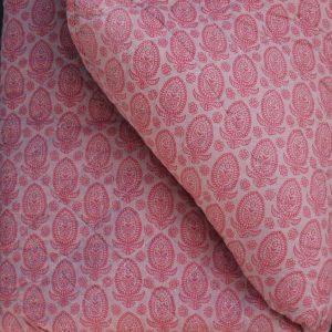 plaid tæppe rød