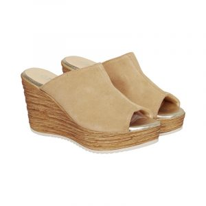 Cream ella sandal